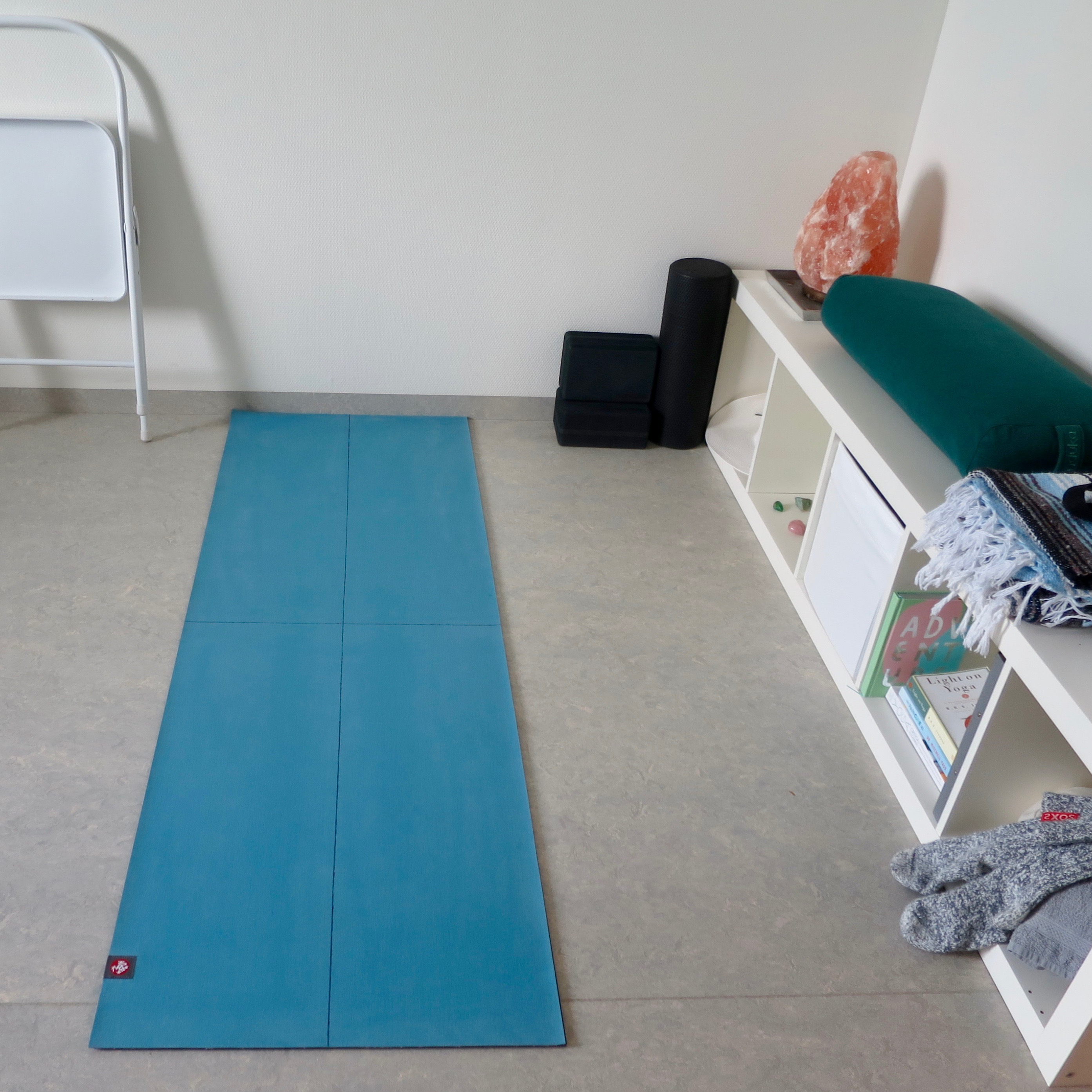 My Yoga for Scoliosis Practice Space